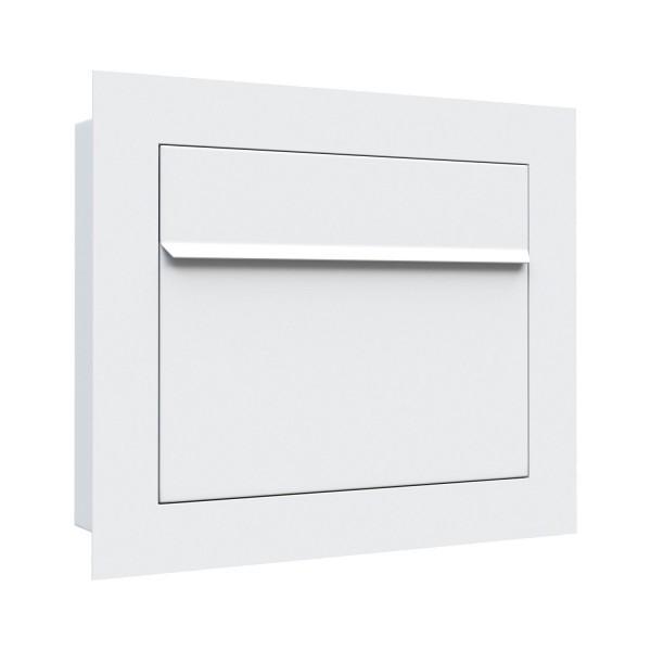 Boîte aux lettres affleurante Sora en blanc