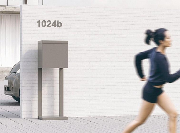 Boite aux lettres Design Boites sur pieds Boîte aux lettres sur pieds Bravios