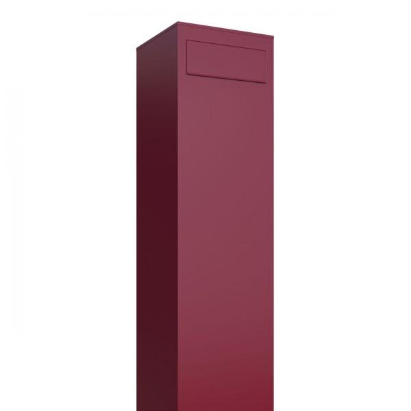 Boîte aux lettres sur pieds Monolith Rouge