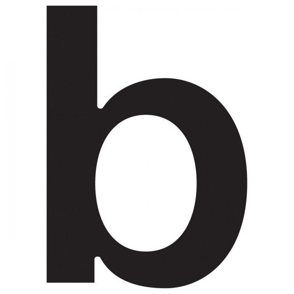 Lettre ''b'' Noire