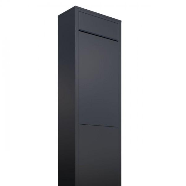 Boîte aux lettres sur pieds Big Box Noire