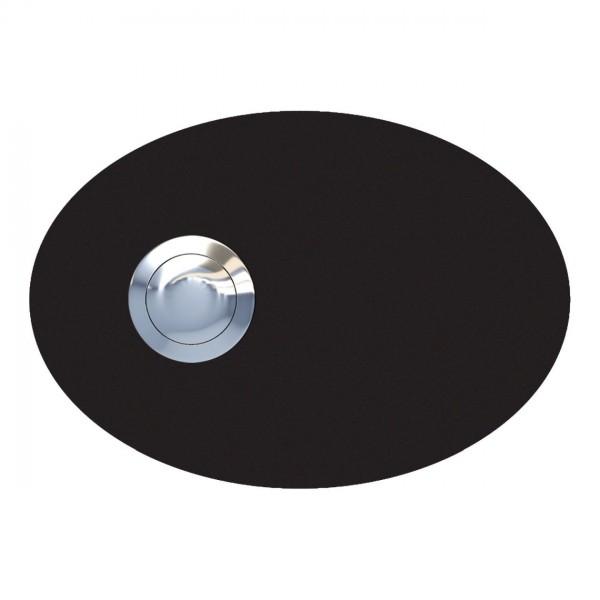 Sonnette Ellipse Noire
