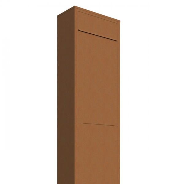 Boîte aux lettres sur pieds Big Box Rouille
