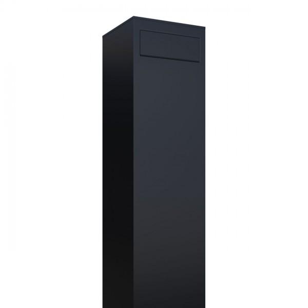 Boîte aux lettres sur pieds Monolith Noire