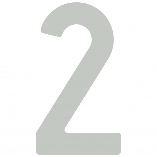 Numéro de Maison ''2'' Gris clair