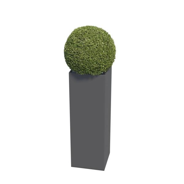 Jardinière Skinny Pillar Medium Anthracite